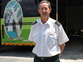 BUS DRIVER OF THE MONTH: Graeme's passion