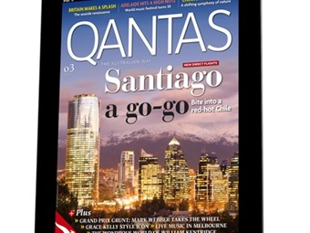 QANTAS launches magazine app