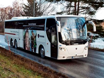 Internet reality realised on European buses