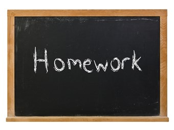 Emerson dishes homework