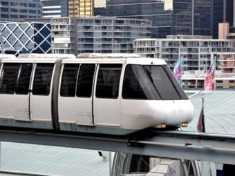 'Curtains' for monorail