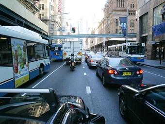 Sydney's light rail could increase congestion