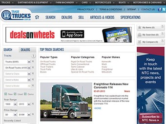 Trade your bus or truck online and in print