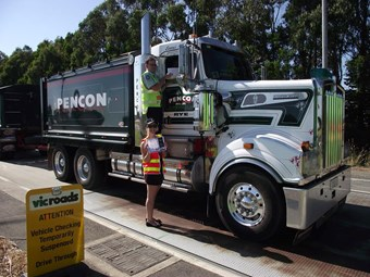 Truck lights campaign underway in Gippsland
