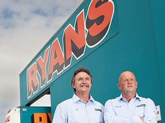 New venture opens up opportunity for Victoria's Ryans Transport
