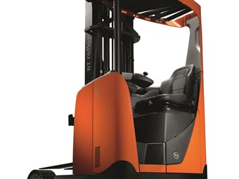 Rugged new reach truck for TMHA