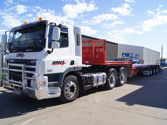 Kings to leverage Walker's haulage presence