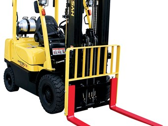 Chance to win a Hyster forklift