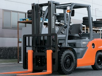 Toyota Launches New Range of 8-Series Forklifts