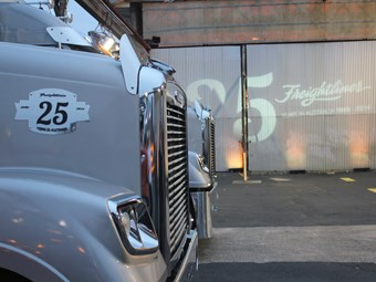 First Australian outing for new Freightliner boss