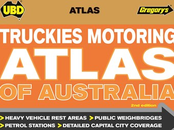 Latest UBD Gregory's Truckies Atlas out soon