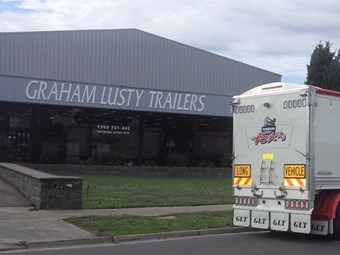 First Trailer built from new Graham Lusty Facility