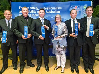Safety conscious truckie takes home top honours