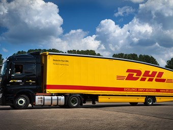 DHL introduces teardrop trailer in Germany and France