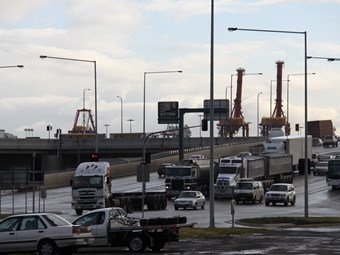 Truck survey draft released on inner west Melbourne traffic
