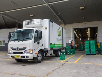 Hino lands Woolworths contract