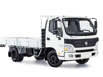 Foton launches Silverback light truck