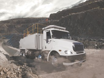 Freightliner sets Columbia's sights on mining industry