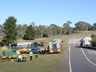Rollover control mandated on dangerous goods tankers in NSW