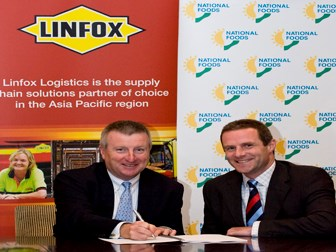 $100m DCs, 80 new trucks for National Foods: Linfox