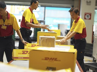 DHL taps people power