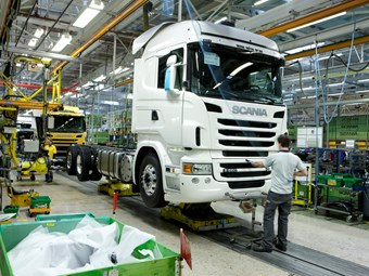 Increased production returns Scania employees to five-day week
