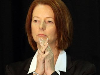 Gillard commits to CPRS with conditions