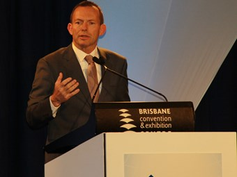 Abbott promises to cut business tax rate