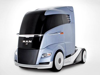 MAN unveils fuel efficiency concept truck