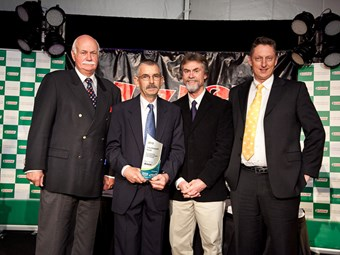 Maintenance manager wins national trucking award