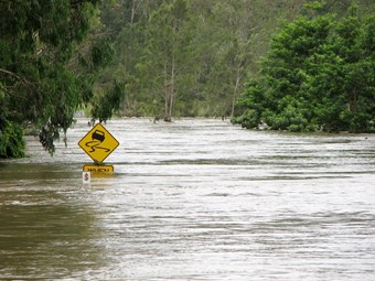 Truckies at a standstill in Queensland flood disaster zones