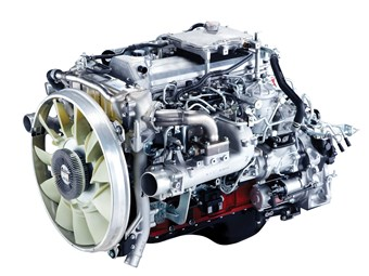 Hino slips Euro 5 engine into 500 series