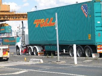Steelbro held liable for injury to Toll truck driver