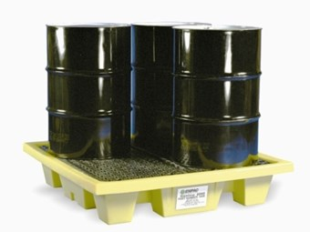 Enpac spill pallet prevents slips and falls