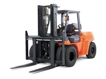 Toyota launches a new 6-8 tonne forklift range