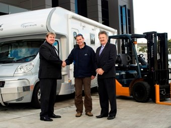 Jayco chooses Toyota forklifts