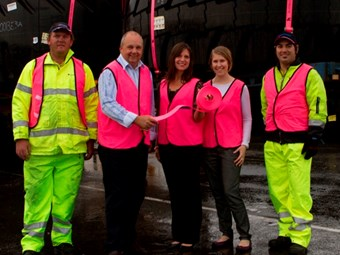 Centurion goes pink for a good cause