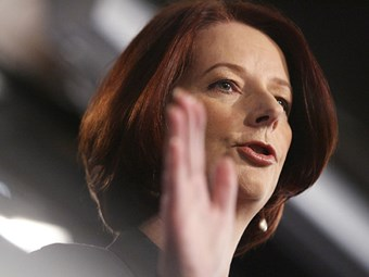Gillard on 'right side of history' with carbon tax