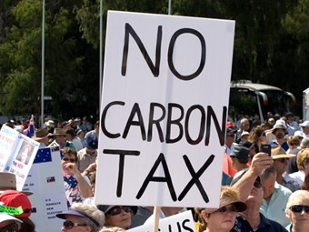Carbon tax sparks dire predictions for truckers