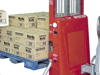 Actisafe ergonomic equipment lifts  pallets, sheets and stacks