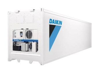 Daikin adds zest to refrigeration containers