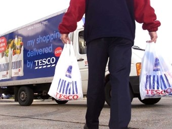Dematic automates home grocery for Tesco