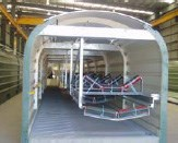 Redispan fully enclosed conveyor