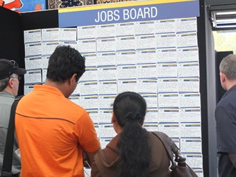 Jobs expo stirs interest in transport
