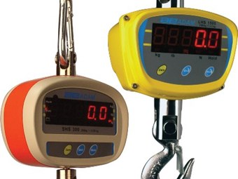 Suspension scales from Adam Equipment