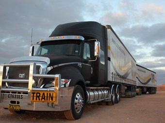 Hitting the road with Cat's new flagship truck