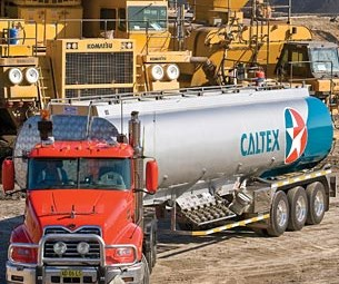 Caltex targets transport industry for growth