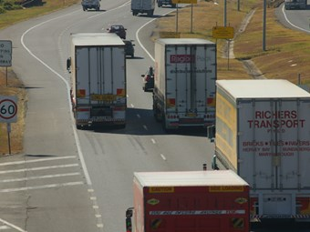 Trucking industry raises concern over road tax process