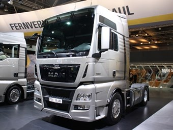MAN's TGX and TGS models get an update