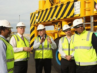 DP World launches bio-Diesel trial and new straddles